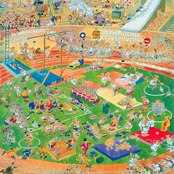 Пазл онлайн: Олимпийские игры