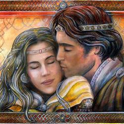 Пазл онлайн: Eowyn and Faramir / Эовин и Фарамир