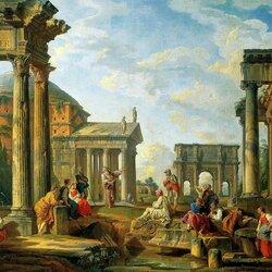 Пазл онлайн: Римские руины