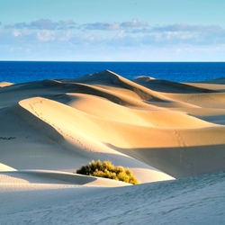 Пазл онлайн: Песчаные дюны на острове Гран Канария