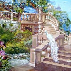 Пазл онлайн: Лестница