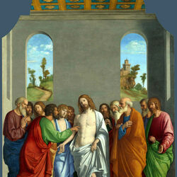 Пазл онлайн: Неверие святого Фомы
