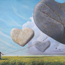 Пазл онлайн: Каменные сердца