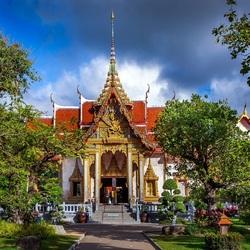 Пазл онлайн: Таиланд, храм Чалонг