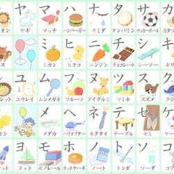 Пазл онлайн: katakana - японская азбука
