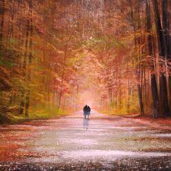 Пазл онлайн: Прогулка в лесу