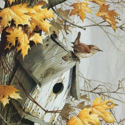 Пазл онлайн: Осень наступила