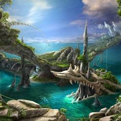 Пазл онлайн: Водный мир