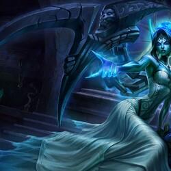 Пазл онлайн: Моргана - призрачная невеста
