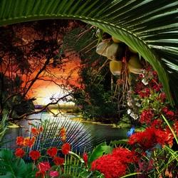 Пазл онлайн: Райский уголочек