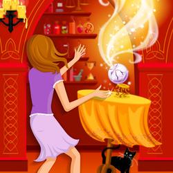 Пазл онлайн: Практическая магия