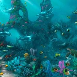 Пазл онлайн: Морской рай