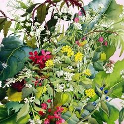 Пазл онлайн: Дикие цветы