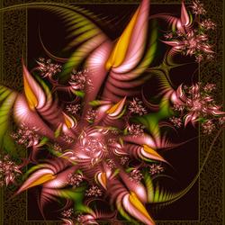 Пазл онлайн: Волшебные цветы