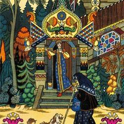 Пазл онлайн: Царевна и Чернавка