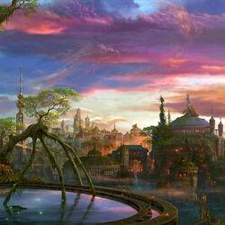 Пазл онлайн: Волшебный мир