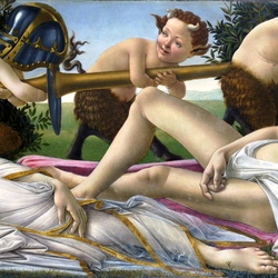 Пазл онлайн:  Венера и Марс