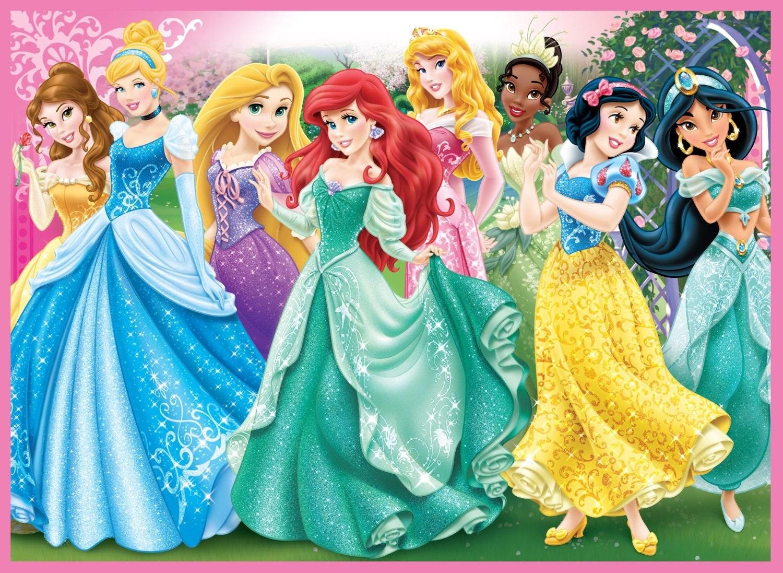 Пазл Принцессы Диснея — собрать пазл онлайн