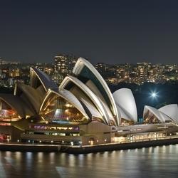 Пазл онлайн: Сиднейский оперный театр, Сидней, Австралия