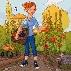 Пазл онлайн: Собираем урожай