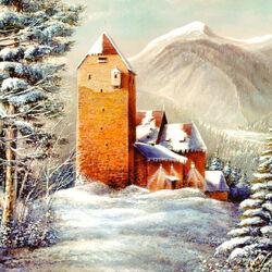 Пазл онлайн: Австрия. Замок Фройндсберг