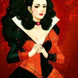 Пазл онлайн: Червонная Королева
