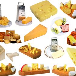 Пазл онлайн: Мир сыра