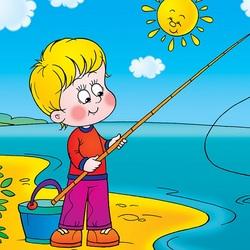 Пазл онлайн: Рыбалка