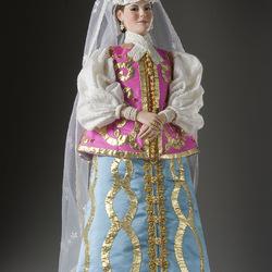 Пазл онлайн: Наталья Кирилловна Нарышкина (1651 - 1694)
