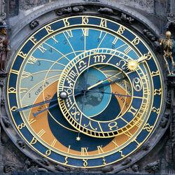 Пазл онлайн: Астрономические часы в Праге