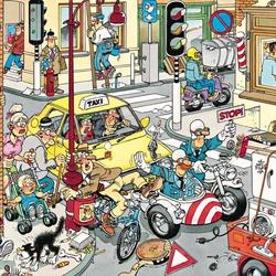 Пазл онлайн: Затор на дороге