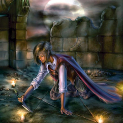 Пазл онлайн: Магический знак