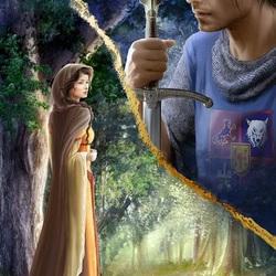 Пазл онлайн: Рыцарский роман