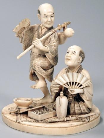Окимоно - японские статуэтки, одна из форм традиционного японского искусства