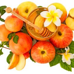 Пазл онлайн: Яблоки с медом