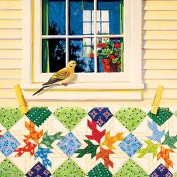 Пазл онлайн: Голубь на окне