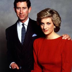 Пазл онлайн: Чарльз и Диана