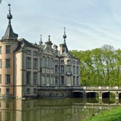 Пазл онлайн: Замок Poeke