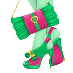 Пазл онлайн: Туфли