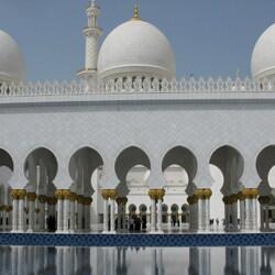 Пазл онлайн: Мечеть шейха Заида в Абу-Даби (ОАЭ)