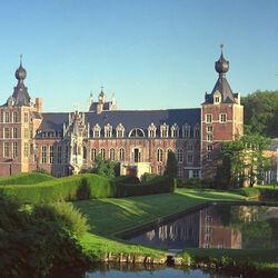 Пазл онлайн: Замок Heverlee