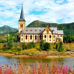 Пазл онлайн: Церковь Вогана