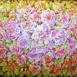 Пазл онлайн: Заблудившаяся в розах бабочка