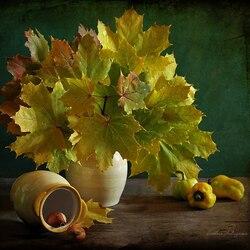 Пазл онлайн: Прощание с осенью