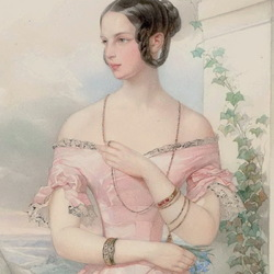 Пазл онлайн: Великая княгиня Александра Николаевна
