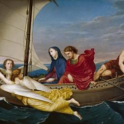 Пазл онлайн: Путешествие Богородицы и святого Иоанна в Эфесе