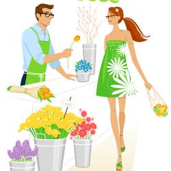 Пазл онлайн: Цветок для вас