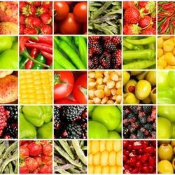 Пазл онлайн: Фрукто-овощной
