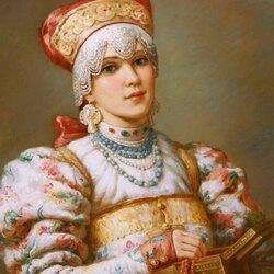 Пазл онлайн: Русские красавицы Владислава Нагорного