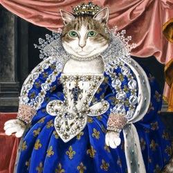 Пазл онлайн: Королева